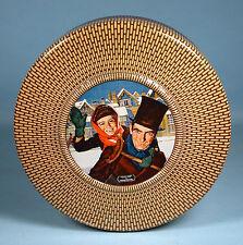1950s Christmas Carol Tiny Tim Biscuit Tin Nabisco Douglass Crockwell Art