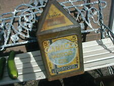 More details for vintage gamages motor oil 5 gallon pyramid can good motoring collectable