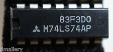 NOS Mitsubishi M74LS74AP dip14 qty: 1             Ships:  in USA tomorrow!