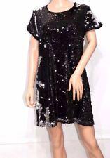 Mink Pink Sequin Party Evening Dress Shopbop  in Black Size M UK12 EU40