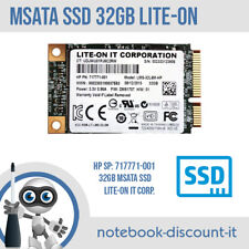 SSD mSATA 32gb Lite-On HP 717771-001 FLASH MINI SSD Sata III Zbook TESTATO OK