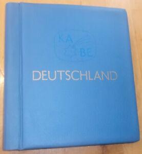 BRD-Teilsammlung postfrisch 1949 bis 1980 mit KABE-Album + Vordruckblättern