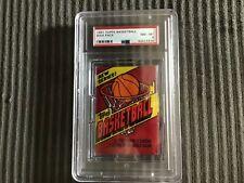 1981 TOPPS BASKETBALL PACK PSA GRADED 8