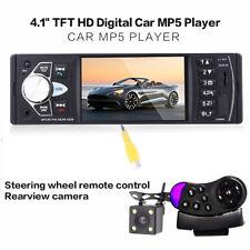 "4.1"" Car Stereo Radio MP5 FM Bluetooth USB/TF AUX Steering  Wheel Control Camera"