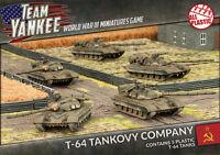 Flames of War BNIB Team Yankee T-64 Tankovy Company TSBX13