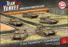 Flames of War NUOVO CON SCATOLA Team YANKEE T-64 tankovy Company TSBX13