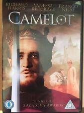 Richard Harris Vanessa Redgrave Camelot 1967 Rey Arturo Musical Clásica Gb DVD