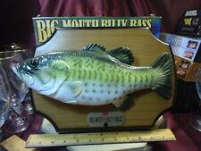 1999 Big Mouth Billy Bass Singing Fish w/orig box-Gemmy Ind-see descriptn-FreShp
