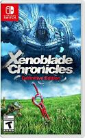 Xenoblade Cronicles Definitive Edition - BRAND NEW - Nintendo Switch