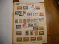 2 Album Pages of Stamps Rare icstamps Stamps1000-20