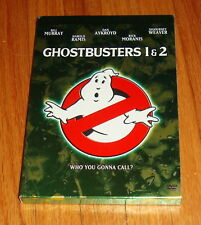 Ghostbusters 1 & 2 Double Feature DVD Box Set w Collectible Scrapbook