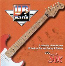 UB HANK  Vol 6 Backing Track CD Shadows Music Recorded at Hank Marvin's Studio