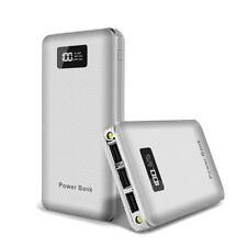 Ultra dünn 50000mAh LCD Power Bank 3USB 2LED Batterie Ladegeräte für Smartphone