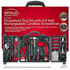 Apollo Precision Tools DT0738 161 Piece Household Tool Kit , New, Free Shipping