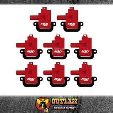 MSD BLASTER COIL FITS GM/CHEV LS1/LS6 ENGINES 1998-06 PACK 8 RED - MSD82628