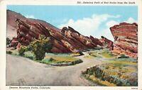 Postcard Denver Mountain Parks Colorado