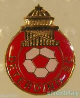 VTG Soccer Ball Sports DETERDING SC 80's Hat Pin Badge Pinback