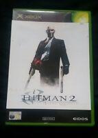 HITMAN 2 SILENT ASSASSIN - ORIGINAL XBOX GAME - WITH MANUAL - VINTAGE/RETRO/RARE