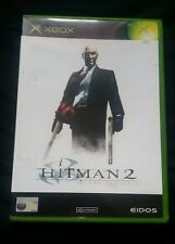 HITMAN 2 SILENT ASSASSIN - ORIGINAL XBOX GAME - WITH MANUAL - VINTAGE/RETRO/RARE