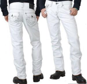 True Religion Jeans Men's BILLY QT White Charleston RARE Size 33
