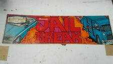 JAIL BREAK-Konami ORIG TOP HEADER/MARQUEE-L@@K!
