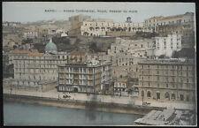 cartolina NAPOLI hotels continental,royal,hassler da mare