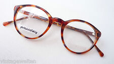 Brillenfassung Hornoptik braun Brille Panto für das kleine Gesicht Grösse S