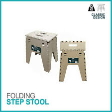 FOLDABLE FOLDING  STEP STOOL HOMEKITCHEN GARAGE CARRY MULTI PURPOSE STURDY STOOL