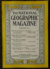 National Geographic magazine February 1953 New Orleans Jambalaya on the Levee