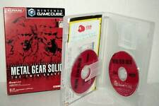 METAL GEAR SOLID THE TWIN SNAKE USATO OTTIMO GAMECUBE ED GIAPPONESE MC5 48322