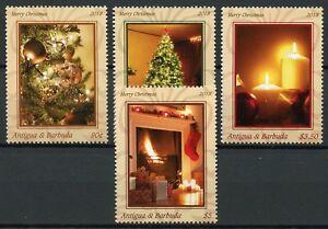 Antigua & Barbuda Christmas Stamps 2018 MNH Trees Decorations 4v Set