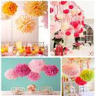 1/5/10X Lantern Flower Balls Wedding Party Home Hanging Tissue Paper Pom Pom