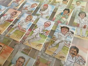 Ritchie & Co - Marvels Of The Middle - 1992 Cricket Trade Cards - Rare Full Set