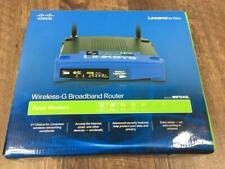 A8~ Linksys WRT54GL Wi-Fi Wireless-G Broadband Router