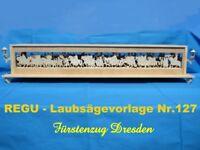 Fürstenzug von Dresden als SOCKELBANK von REGU - Laubsägevorlagen ++++++++++++++