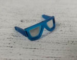 Vintage Sunsational Malibu Ken Blue Mirrored Sunglasses Great Condition