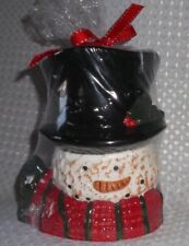 New Snowman Wax Tart Warmer