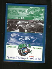 Houston Aeros--1996-97 Pocket Schedule--Sierra Spring Water--IHL