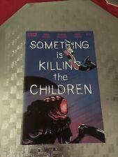 something is killing the children 5 1st Print