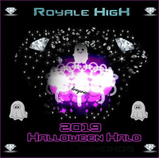 ROBLOX ROYALE HIGH, DIAMONDS 🦋 HALLOWEEN HALO 2019 🦋 CHEAPEST PRICE!!!