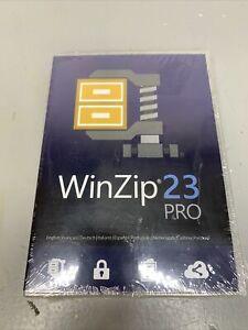 WinZip 23 Pro - File Compression & Decompression -New Sealed