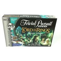 Trivial Pursuit The Lord Of The Rings Trilogy Edition DVD Board Game 2004