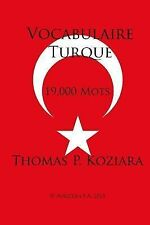Vocabulaire Turque by Thomas Koziara (2015, Paperback)