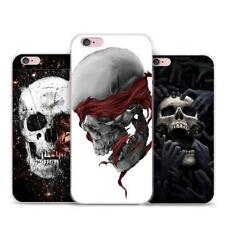 Grim Reaper Skull Skeleton Hybrid Phone Case For iPhone X 8 7 6 Samsung Huawei
