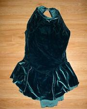 Womens-Dance-Ice Skating Skate-Leotard Bodysuit-Dress-Competition-Costume-MA-M