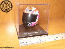 TETSUYA HARADA MOTO-GP ARAI HELMET OAKLEY 1/5 1993 MINT!!!