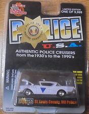 KKar Racing Champions - 1999 Police USA #091 - '57 Buick - St. Louis County Pol.