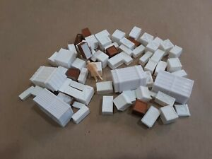 O Scale - OVER 60 WOOD CRATES - Surplus, defects, remnants