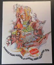1974 Concert Program Lynyrd Skynyrd Roy Buchanan Mahavishnu Ray Charles BB King