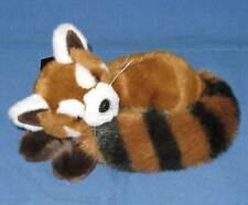 Lying Red Panda Soft Toy 20cm. Quality Plush by Dowman. Brand new with Tag